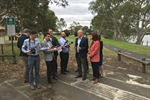 Michael McCormack election funding for riverfront